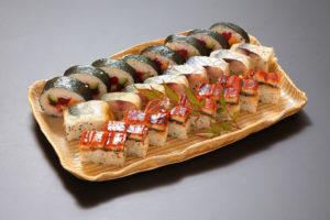 寿司三種盛り